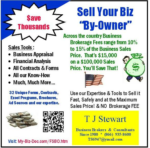 sell your business yourself by owner and save a lot of money